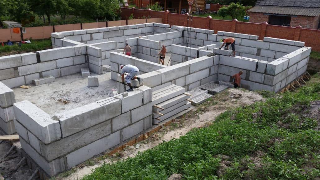 Фундаментные блоки для строительства дома
